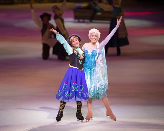 Skating show celebrating the magic of Disney comes to Wembley
