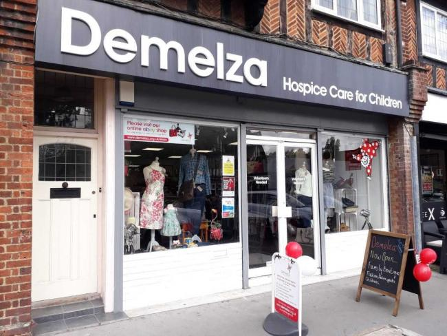 Demelza Hospice S Charity Shop Opens In Petts Wood This Is