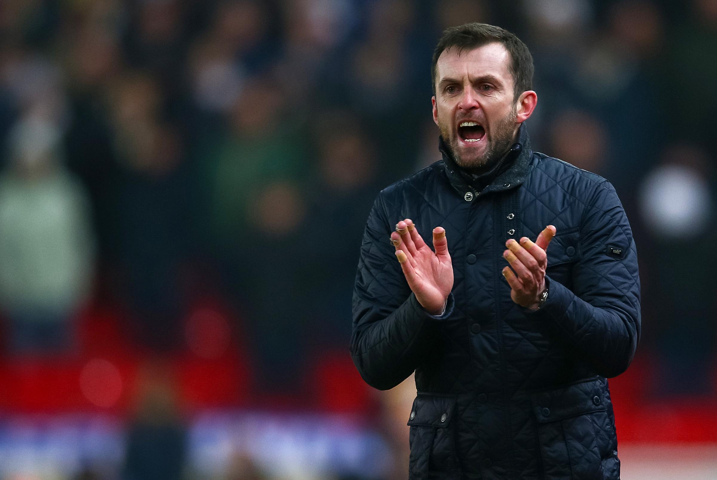 Stoke City manager Nathan Jones