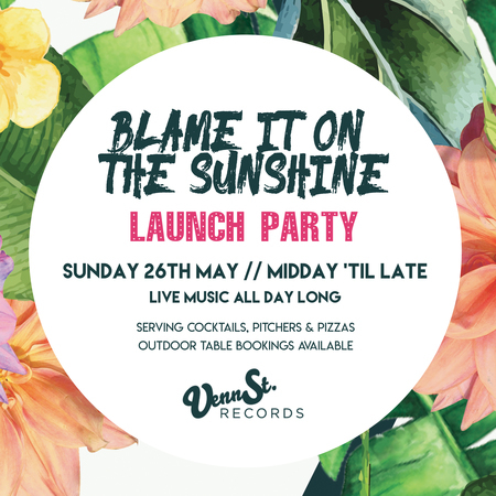 Blame It On The Sunshine * Bank Holiday Party, Clapham Common