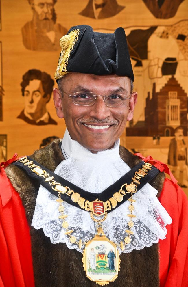 Cllr Nitin Parekh, Mayor of Harrow (Image: Harrow Council)
