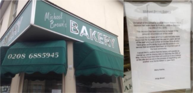 Michael Brown's Bakery