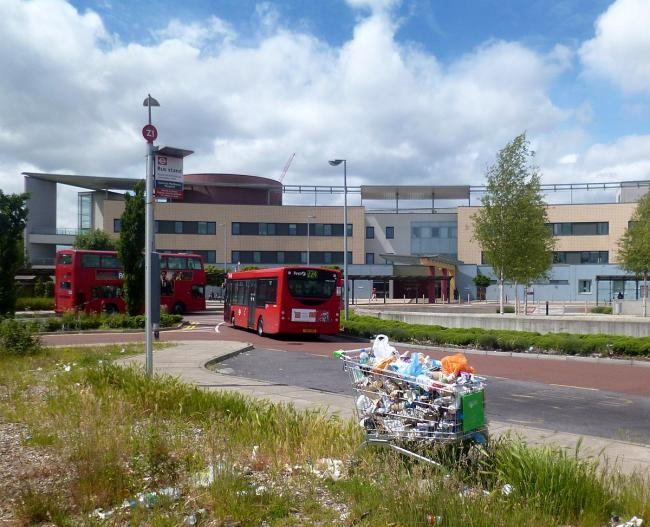 Sold: spare land at Central Middlesex Hospital