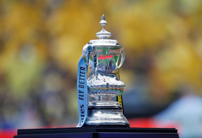 The FA Cup prior to last weekend's final. Picture: Action Images