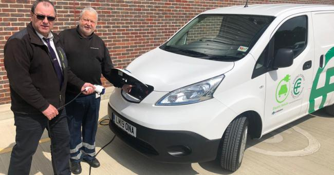 Epping Forest Disitrct Council's second electric van will be on the roads in July