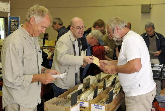 This Is Local London: Collectors at the stamp fair