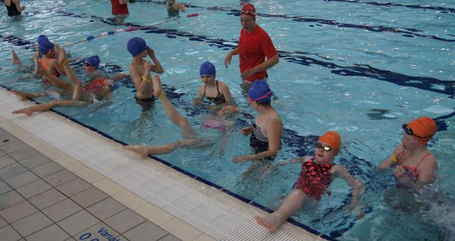 A total swimming session at Everyone Active in Watford