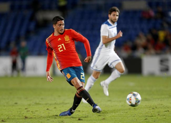 Pablo Fornals in action for Spain. Picture: Action Images